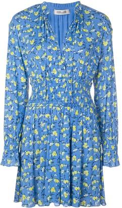 Diane von Furstenberg Henrietta floral print playsuit
