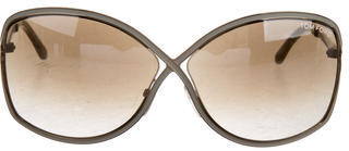 Tom Ford Tom Ford Rickie Oversize Sunglasses
