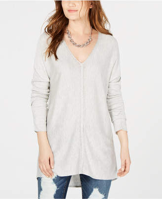 INC International Concepts I.n.c. V-Neck Sweater Tunic