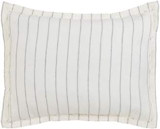 Villa Home Collection Pinstripe Linen Standard Sham