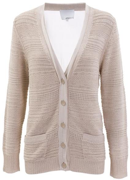 3.1 PHILLIP LIM - Textured knit cardigan