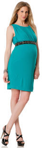 A Pea in the Pod Sleeveless Embellished Maternity Dress