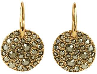 Adore Pave Crystal Drop Earrings