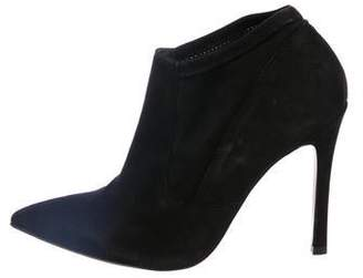 Barneys New York Barney's New York Suede Pointed Booties