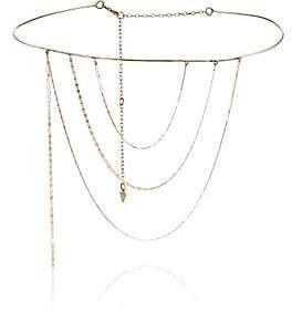 Loren Stewart Women's Thin-Wire Mixed-Chain Collar