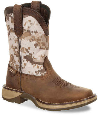 Durango Lil' Rebel Desert Camo Toddler & Youth Cowboy Boot - Boy's