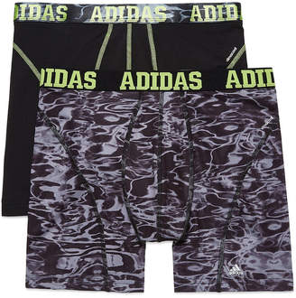 adidas 2-pk. Sport Performance climacool Graphic Boxer Briefs