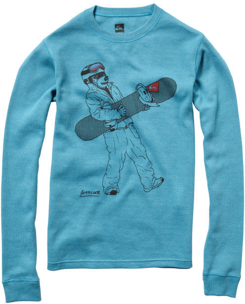 Quiksilver Boys 8-16 Get Grizzly Microthermal