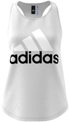 adidas Sleeveless Scoop Neck T-Shirt-Womens
