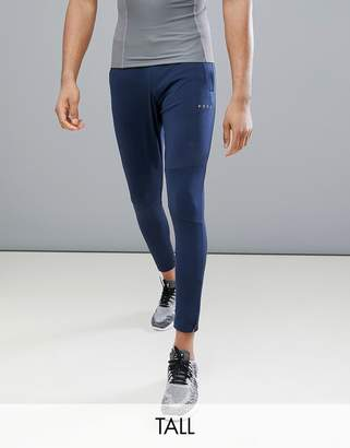 Asos 4505 Tall skinny training joggers with zip cuff in navy