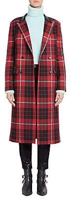 Each X Other Women's Tartan Plaid Coat