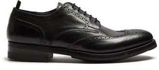Alexander McQueen Leather brogues