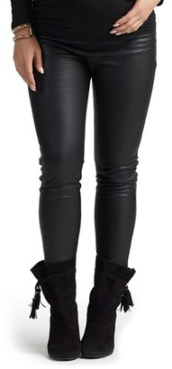 Women's Tart Maternity Sadi Faux Leather Maternity Pants $128 thestylecure.com