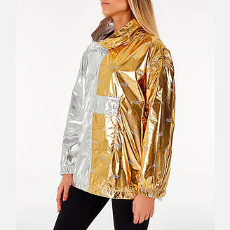 Nike Women's Sportswear Metallic Flash Wind Jacket