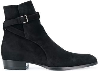 Saint Laurent Signature Wyatt 30 Jodhpur boots