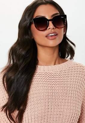 Missguided Quay Australia Noosa Tortoiseshell Sunglasses