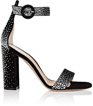 Gianvito Rossi Women's Portofino Studded Suede Sandals