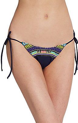 Mara Hoffman Electric Casino Side-Tie Bikini Bottom