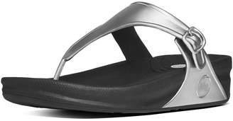 FitFlop SUPERJELLY TM Rubber Flip Flops