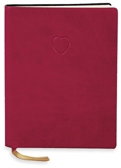 Eccolo™ Red Heart Journal