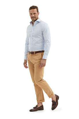 Country Road Slim Prince of Wales Textured Shirt