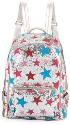 Bari Lynn Girls' Shimmer Star Backpack