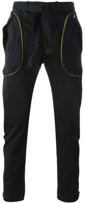 Faith Connexion zip detail tapered trousers