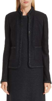 St. John Adina Knit Short Jacket