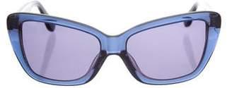 Derek Lam Translucent Amari Sunglasses