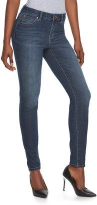 Women's Jennifer Lopez Curvy Skinny Jeans $54 thestylecure.com