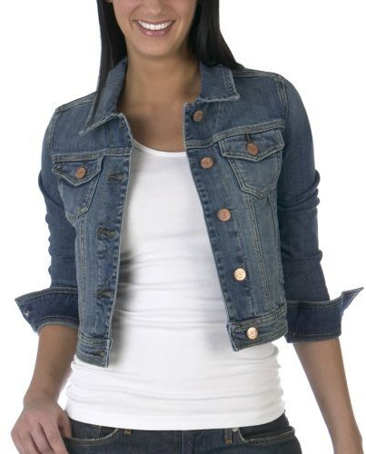 Juniors' Mossimo Supply Co. Denim Jacket - Medium Wash