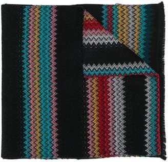 Missoni zigzag pattern scarf