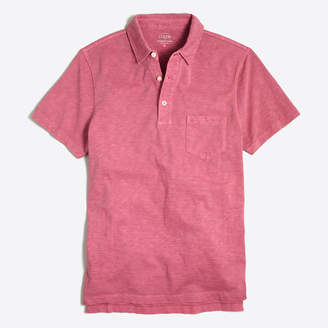 J.Crew Factory Sunwashed garment-dyed polo