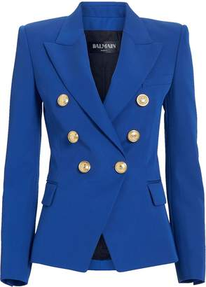 Balmain Electric Blue Classic Blazer