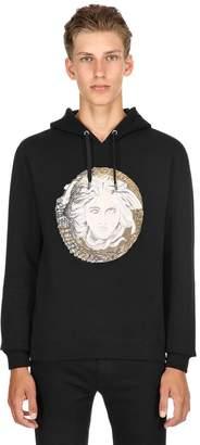 Versace Medusa Embroidered Sweatshirt Hoodie