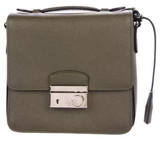 Prada Saffiano Lux Sound Crossbody Bag