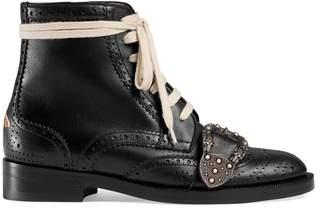 Gucci Queercore brogue boot