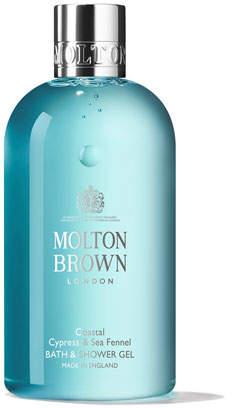 Molton Brown Coastal Cypress & Sea Fennel Bath & Shower Gel, 10 oz./ 30 mL