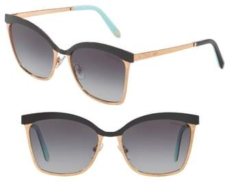 Tiffany & Co. 55mm Gradient Sunglasses