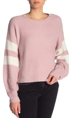 John & Jenn Varsity Striped Sweater
