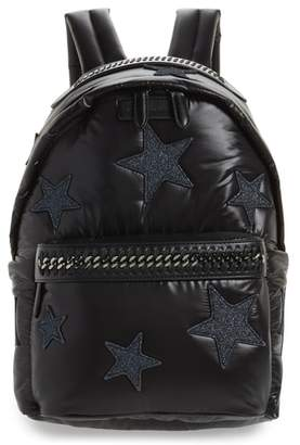 Stella McCartney Falabella Go Stars Nylon Backpack