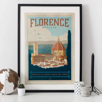 I Heart Travel Art. Florence Travel Print