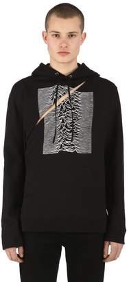Raf Simons Joy Division Two Piece Cotton Sweatshirt