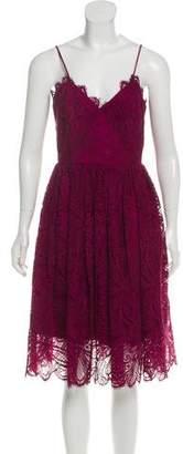 Zac Posen Sleeveless Lace Dress w/ Tags