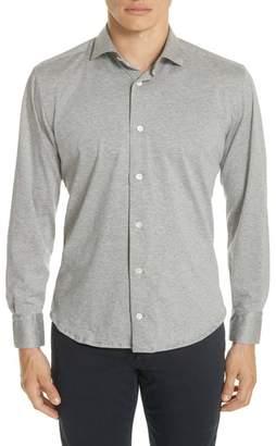 Eleventy Slim Fit Knit Shirt