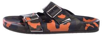 Givenchy Camouflage Leather Sandals
