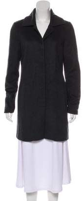 The Row Long Sleeve Knee-Length Coat