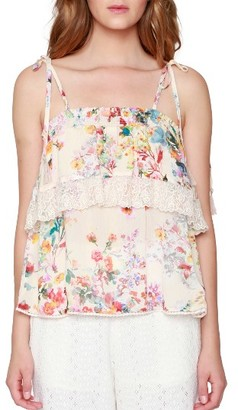 Women's Willow & Clay Ruffle Tank $89 thestylecure.com