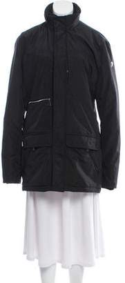 Post Card Eight-Pocket Zip-Up Jacket