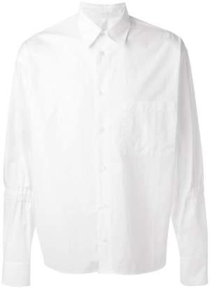 Marni elasticated detail shirt